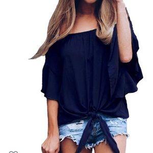 Beautiful woman top blouse
